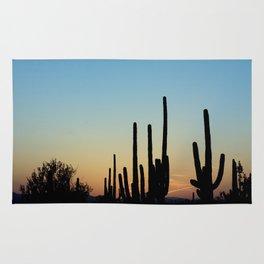 Sunset Cacti 2 Rug