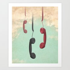 Message from Above Art Print