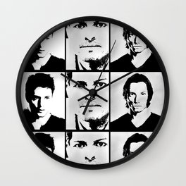 Team Free Will Wall Clock