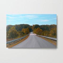 Back Road Metal Print