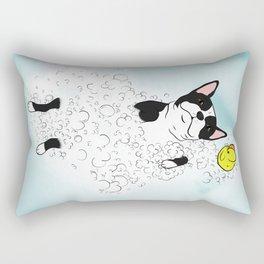B&W Bubble Bath Boston Rectangular Pillow