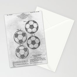 Soccer Ball Stationery Cards