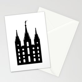 Mormon Style Temple Stationery Cards