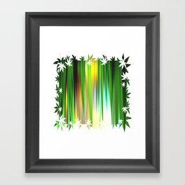 Gras.  Framed Art Print
