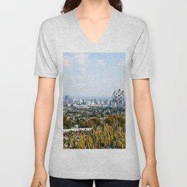 Los Angeles Unisex V-Neck