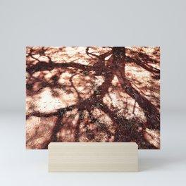 African Shadow Tree 3 Mini Art Print