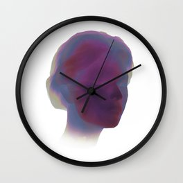 Above the Mist Wall Clock
