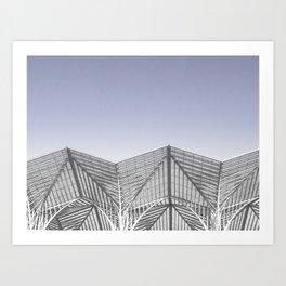 Calatrava Lisbon Gare Oriente Art Print
