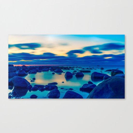 The Baltic Sea, Estonia Canvas Print