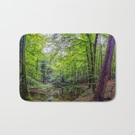 Forest Landscape Bath Mat