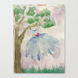 Dancing in the Breeze Canvas Print