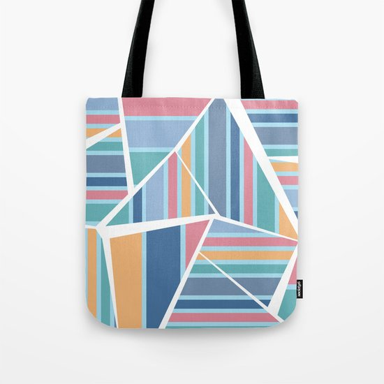 CRAZY STRIPES (abstract pattern) Tote Bag