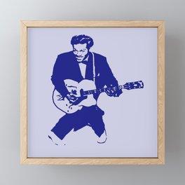 Chuck Framed Mini Art Print