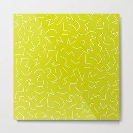 IZZY ((chartreuse)) Metal Print