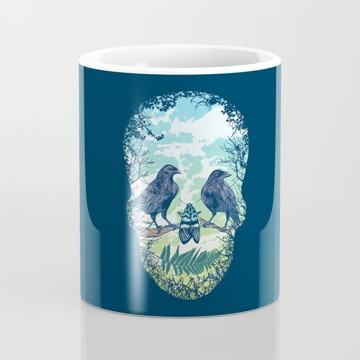 Nature's Skull Coffee Mug