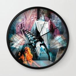 Tube Distortion Wall Clock