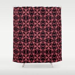 Layered Flower Shower Curtain
