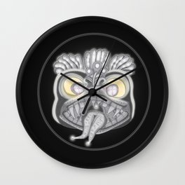 Panic Wall Clock