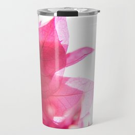 Bright Bougainvillea Travel Mug