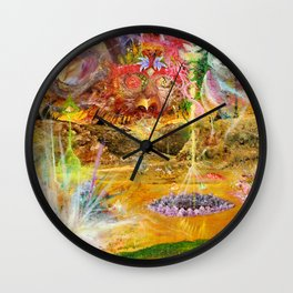 Rise of the Fallen Stars Wall Clock