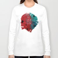 calavera Long Sleeve T-shirts featuring calavera sisters by DizzyNicky
