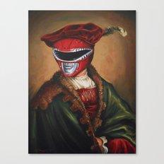 Portrait Of A Stately Ranger Canvas Print