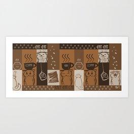 Fat Caffe Art Print