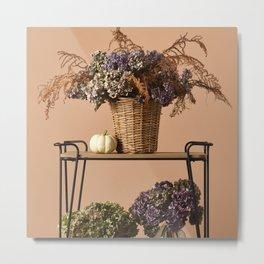 Beautiful dried bouquets Metal Print