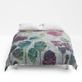 Butterflies and Blooms Comforters