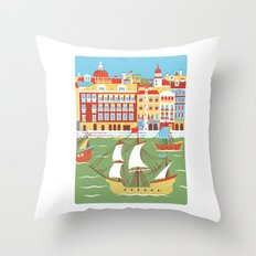 Canal Grande Throw Pillow