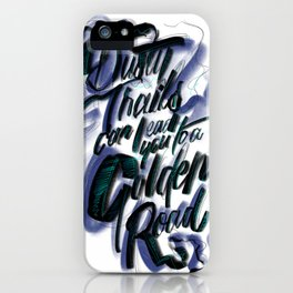 Dusty Trails iPhone Case