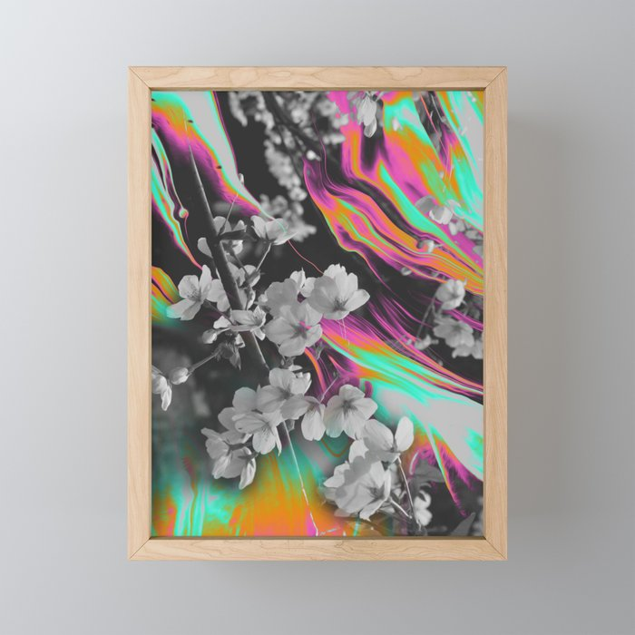 CORNERSTONE IV Framed Mini Art Print