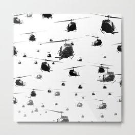 THE HELICOPTERS Metal Print