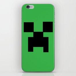 creeper iPhone Skin