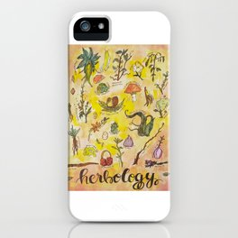 Herbology iPhone Case