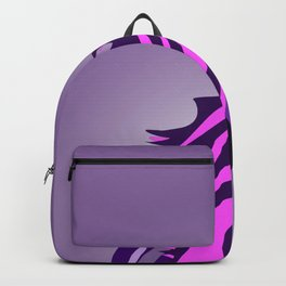 Pony in the Pink (and Purple) Backpack
