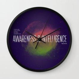Penrose space Wall Clock