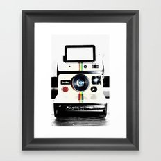 Shake it like a Polaroid picture Framed Art Print