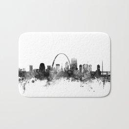 St Louis Missouri Skyline Bath Mat
