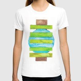 180818 Geometrical Watercolour 5 T-shirt