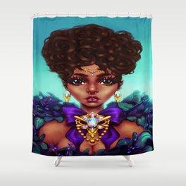 Flourished Shower Curtain