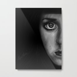 I Can't Talk Right Now Metal Print