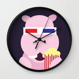 Hippo - 3d Wall Clock