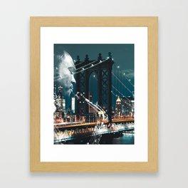 Jazz in New york Framed Art Print