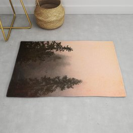 Deep in Thought - Forest Nature Photography Rug