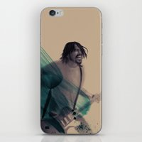 dave grohl iPhone & iPod Skins featuring Dave Grohl by Daniel Cisneros