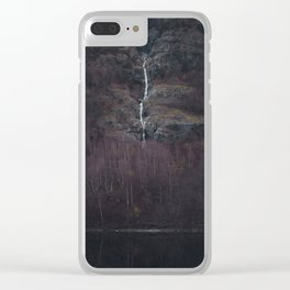 Purple forest Clear iPhone Case