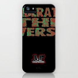 Liberate The Verse iPhone Case