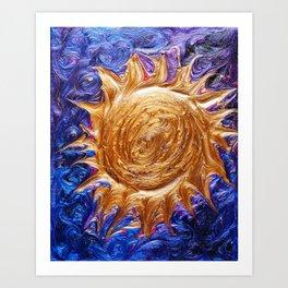 Sun in Space Art Print