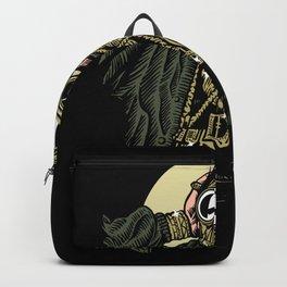 Gas Mask Gangsta Backpack